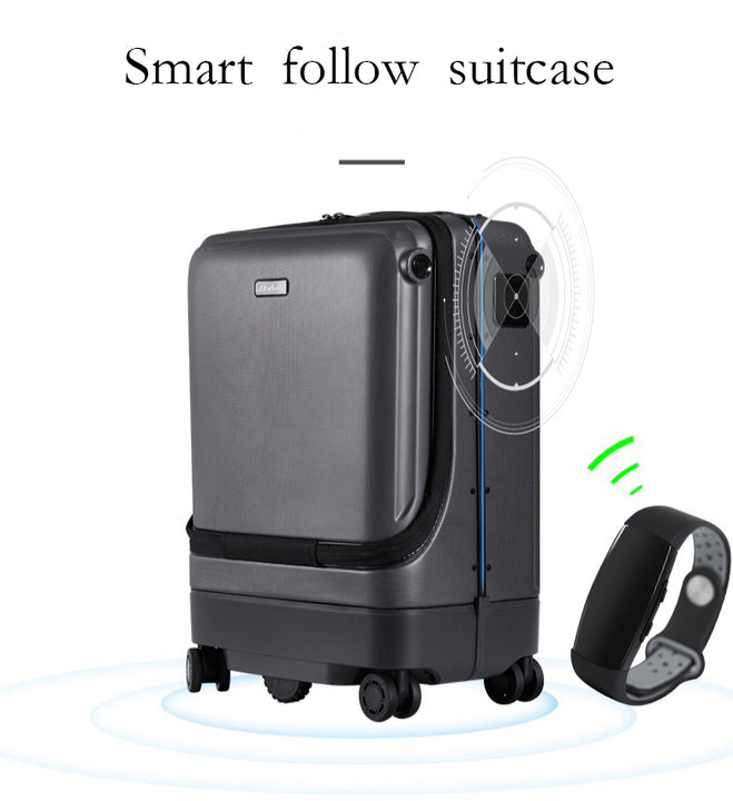 Intelligent Auto-Following Suitcase