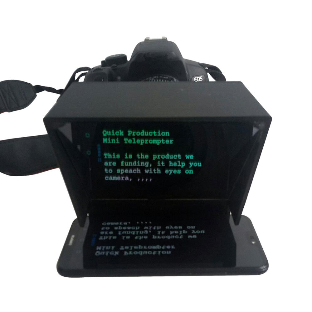 Mobile Teleprompter  with Remote Control