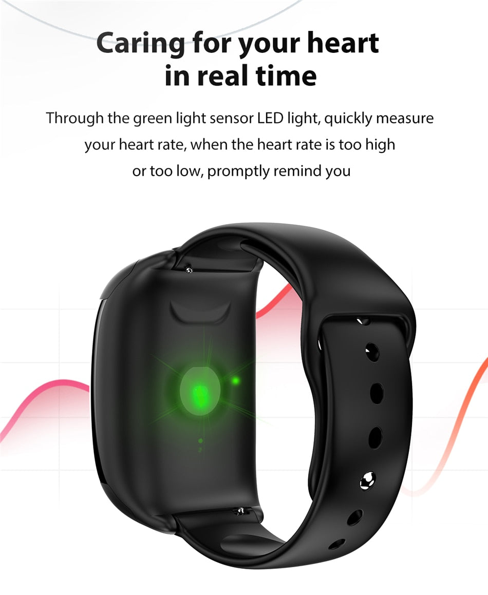 LIGE Smart Watch with Built-in Headset