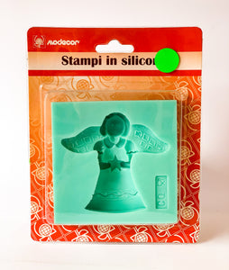 Stampo in silicone - angelo