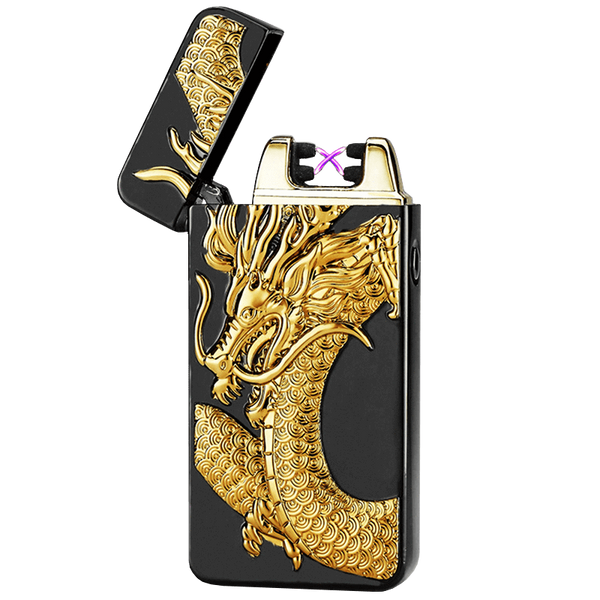 Superlit Plasma Aansteker Special Edition Glorious Gold Dragon