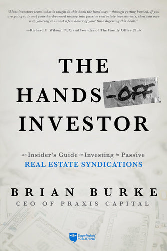 The Hands-Off Investor - BiggerPockets Bookstore