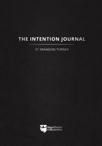 The Intention Journal - BiggerPockets Bookstore