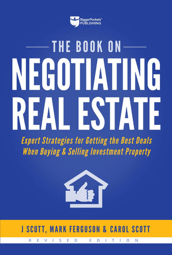 The Book on Negotiating Real Estate - BiggerPockets Bookstore