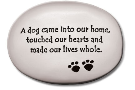 """A dog came into our home, touched our hearts…"""