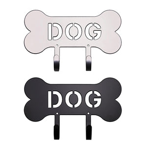 """DOG"" Bone Harry Barker Leash Rack"