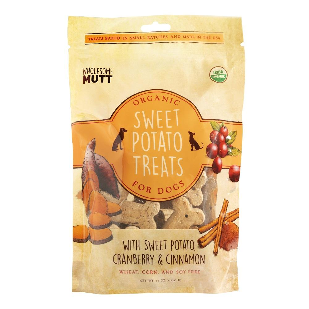Wholesome Mutt Organic Sweet Potato Treats
