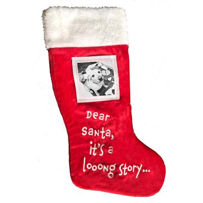 Dear Santa Stocking