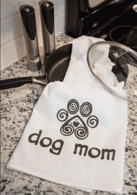 Kitchen Towel - Dog Mom with Heart