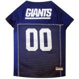 Load image into Gallery viewer, NEW YORK GIANTS DOG JERSEY – BLUE TRIM