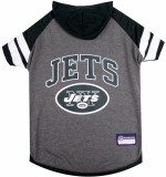 Load image into Gallery viewer, NY Jets Dog Hoodie Tee