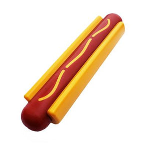 SodaPup Nylon Hot Dog Ultra Durable Dog Chew Toy