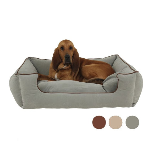 Carolina Pet - Microfiber Low Profile Kuddle Lounge