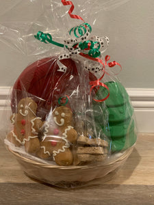 Tough Chewer Christmas Gift Basket