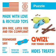Load image into Gallery viewer, West Paw - Qwizl Puzzle & Treat Toy