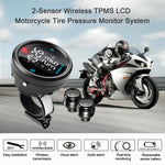 STEELMATE Motorcycle Tire Pressure Monitor System - Universal Motorcycle TPMS