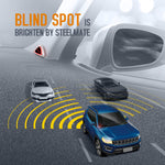STEELMATE Universal Car Blind Spot Detection System BSD Lane Change Assistant