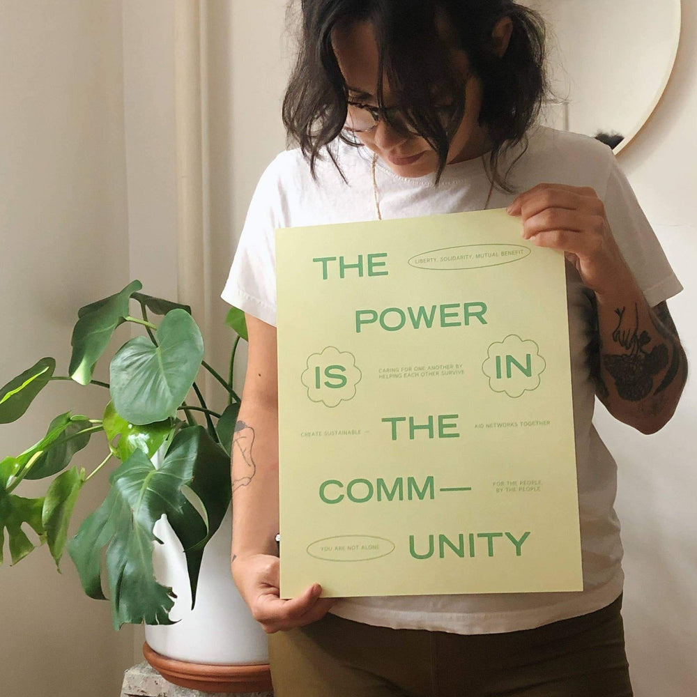 Power In Community Print