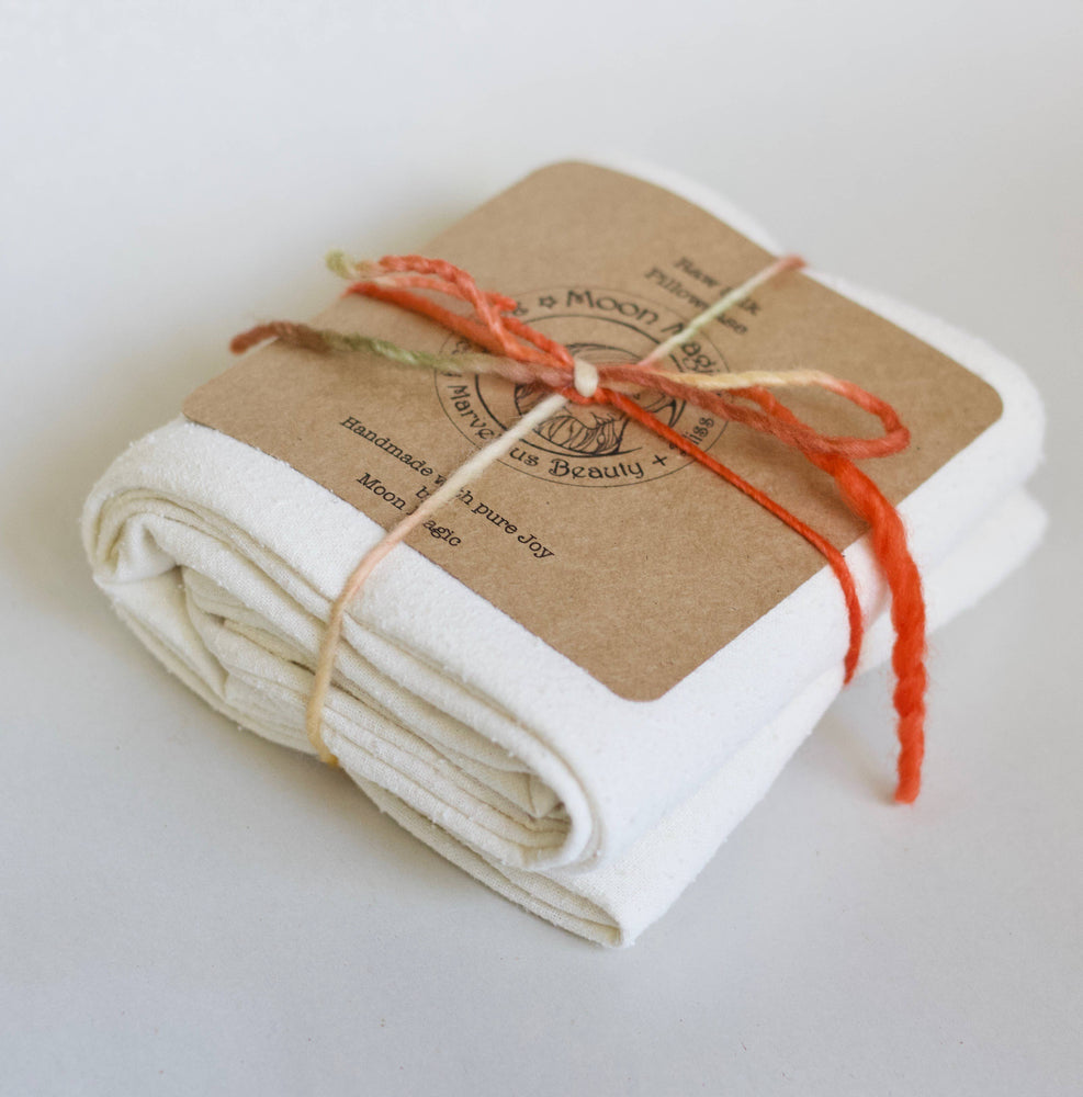 Raw Silk Pillowcase