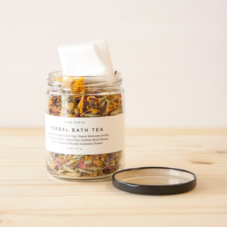 Organic Herbal Bath Tea