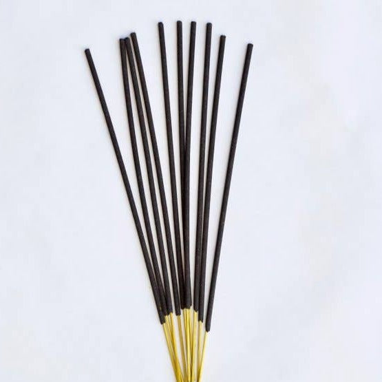 Hand-Dipped Amber Lavender Incense