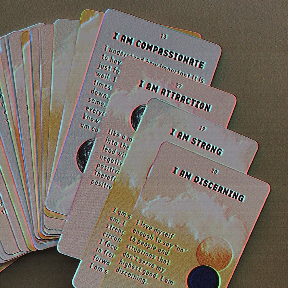 I AM Everything™ Affirmation Card Deck Moon Lovers Society