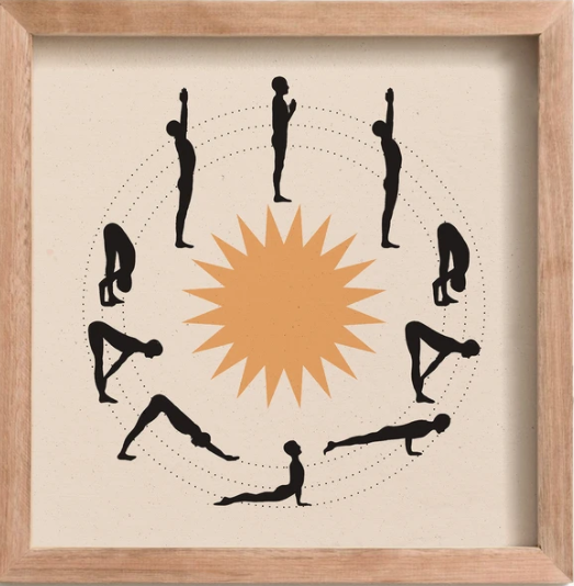 Load image into Gallery viewer, Sun Salutation Print