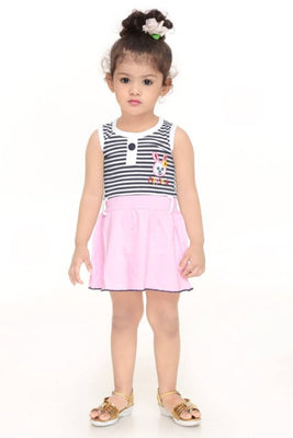 JUST TRENDY COTTON DRESS FOR GIRLS
