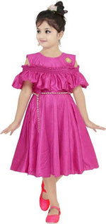 Barbie Girls Midi/Knee Length party Dress