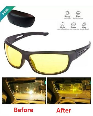 Night Vision Super Clear Helmet Glass For Biker