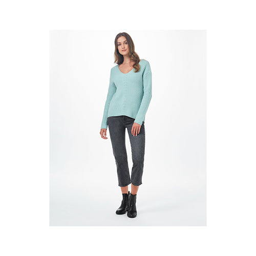 Ten Tree Women's Highline Cotton V-Neck Sweater