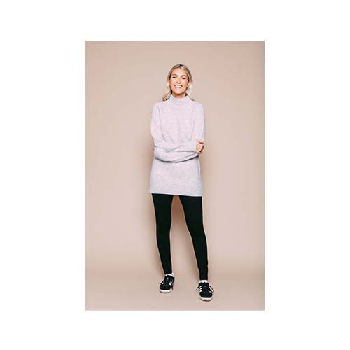 Orb Athena Funnel Neck Sweater