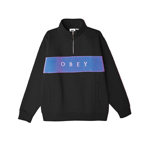 Obey Ian Mock Neck Zip