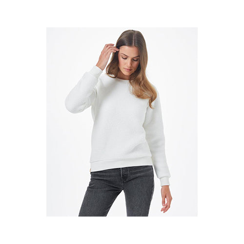 Ten Tree Women's EcoLoft Boyfriend Crew