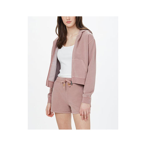 Ten Tree Women's French Terry Boyfriend Zip