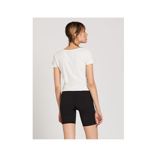 Volcom Women's Lived in Lounge Short Sleeve