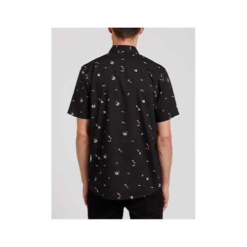 Volcom Men's Party Pieces Short Sleeve