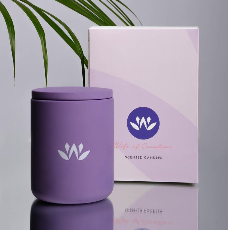 Lotus - Essential Body Oil Candle