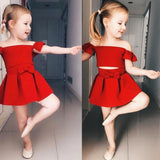Red Bow Dancing