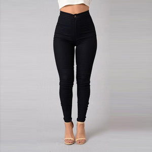 Candy Color Skinny Jeans