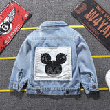 Children Mickey Denim Jacket