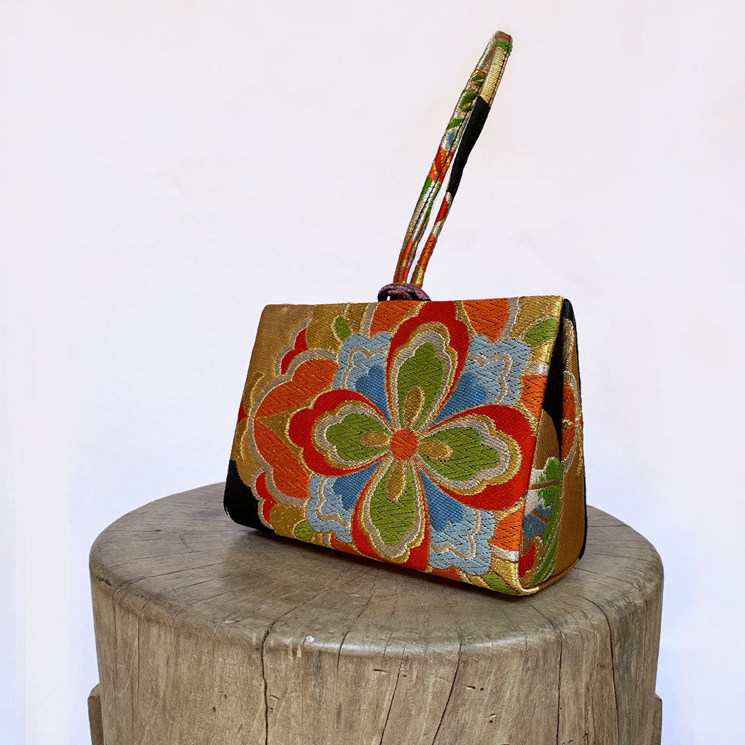 Mandara Flower Clutch bag