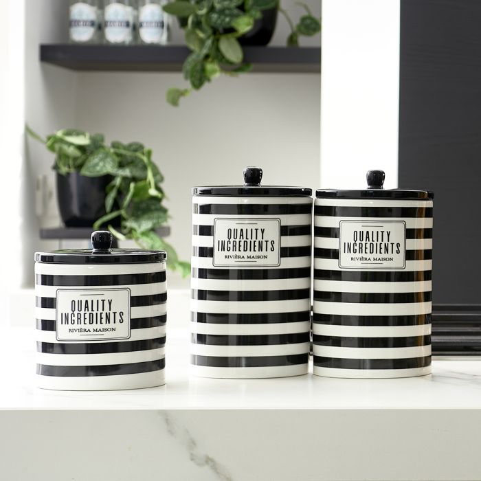 RM Ingredients Storage Jar S