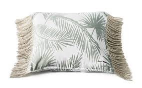 Riviera Maison  Tropical Palm Leaf Pillow  díszpárna