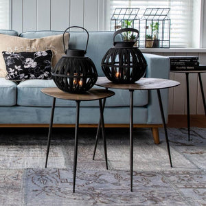Riviera Maison Twiggy End Table set 2 asztal