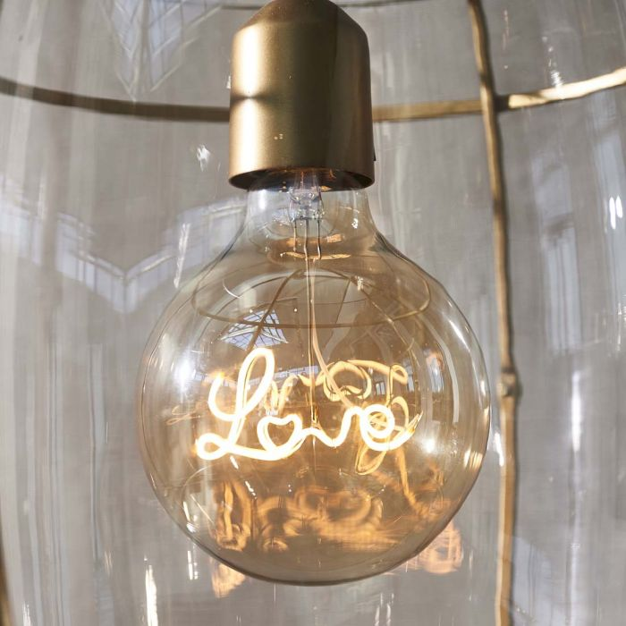 Riviera Maison Love Hanging Lamp LED Bulb