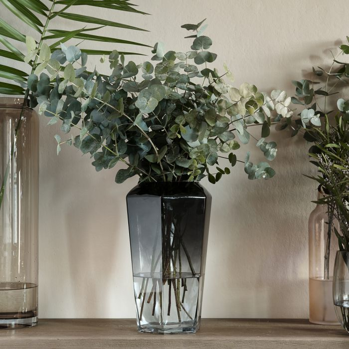 Riviera Maison Midnight Hexagon Vase grey