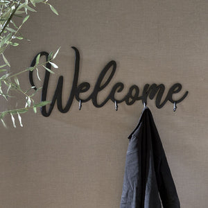 Riviera Maison Welcome Coatrack black