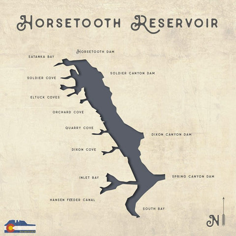 Horsetooth'd Photo-Horsetooth Reservoir