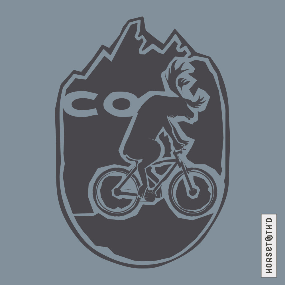 CO Bike Moose Champion Hoodie